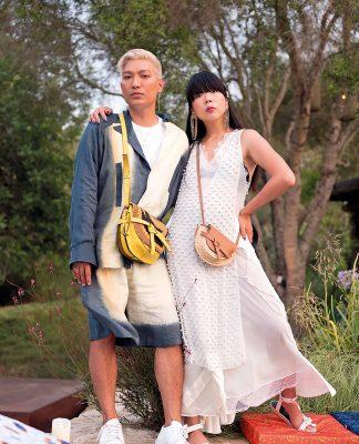 El influencer Bryan Boy y Susie Lau.