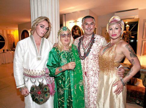 La fiesta indiana del mosquetero oliver